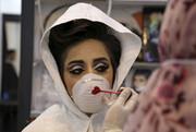 تصاویر | برگزاری مراسم عروسی با ماسک و دستکش سفید!