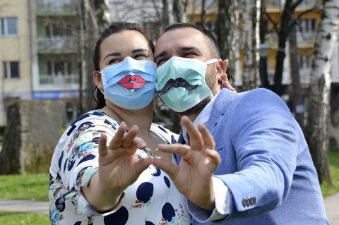 زوج جوان در بوسنی