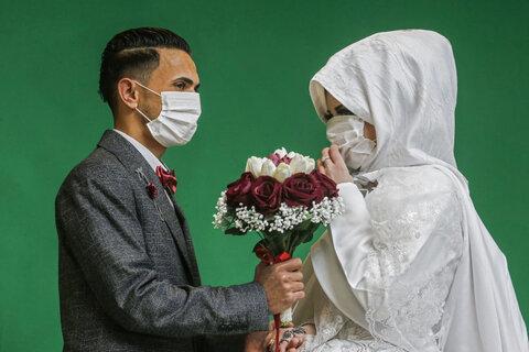 مراسم عروسی در نوار غزه