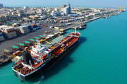 تخلیه و بارگیری کانتینر در بندر بوشهر ۱۴۰ درصد افزایش یافت