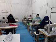 تولید ۴۰هزار ماسک در مسابقه خیرخواهی