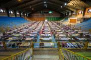 تصویر | راهاندازی نقاهتگاه در سالنهای ورزشی همدان