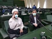 عکس | حضور نماینده جنجالی بهبود یافته از کرونا در مجلس