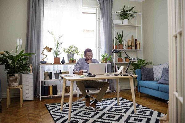 خانه - اتاق - کار - دکوراسیون