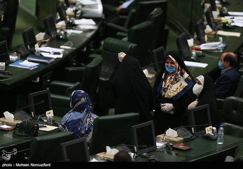 تصاویر اولین جلسه علنی مجلس در سال ۹۹