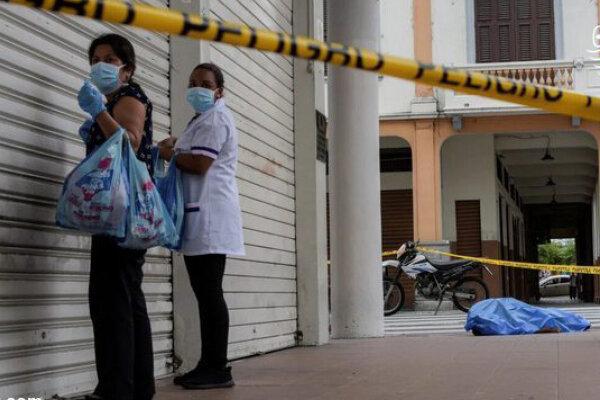 رهاسازی اجساد قربانیان کرونا در خیابانها