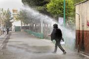 ضدعفونی مکرر مجتمعهای مسکونی تبریز برای پیشگیری از شیوع کرونا