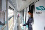 مقابله با کرونا در ایستگاههای راهآهن شرق