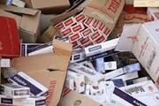 کشف ۱۰ هزار نخ سیگار قاچاق در ایلام
