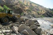 بیش از ۳۵ هکتار بستر رودخانههای کردستان رفع تصرف شد
