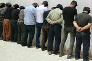 دستگیری ۳۷ سوداگر مرگ در لردگان