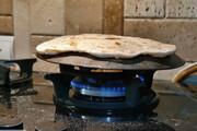 تصویر | پخت نان خانگی در خرمآباد