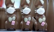 عکس روز| خرگوشهای شکلاتی ماسکدار
