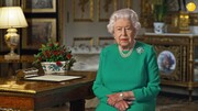 تصاویر | لباس ملکه انگلیس جنجال برانگیز شد!