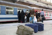 ۶۰ درصد بهای بلیتهای قطار استرداد شد