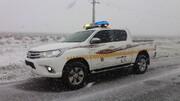 برف و باران جادههای استان تهران را لغزنده کرد