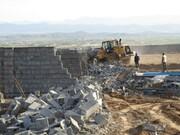 تخریب ۸۵۰ بنای غیرمجاز در حریم شهر تاریخی توس