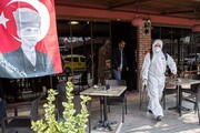 شیوع شتابان کرونا در ترکیه | آمار مبتلایان از ۴۲ هزار نفر عبور کرد