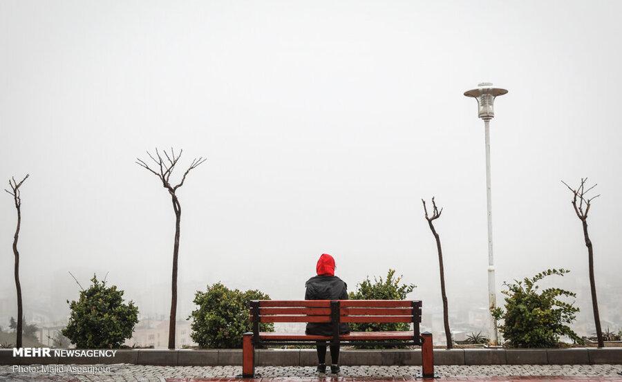 مه در تهران