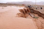 برخی زیرساختهای شهرستان بویین زهرا بر اثر سیل خسارت دید