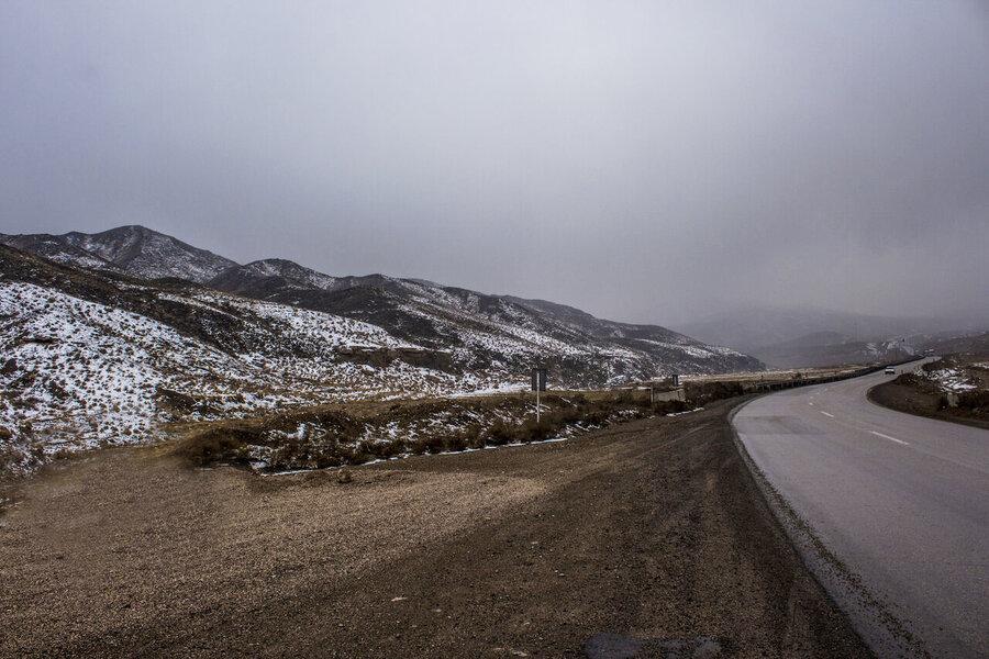 جاده کوهستانی