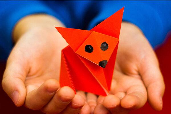 اوریگامی - کاردستی - سرگرمی
