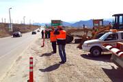 اصلاح ۱۵ نقطه حادثهخیز جادهای در استان اردبیل