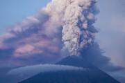 ترسناکترین تصویر از فوران آتشفشان اتنا در ایتالیا