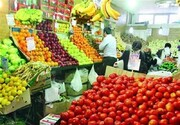 کاهش قیمت میوه در بازار همدان