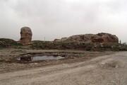 تپه «گیان» نهاوند ریزش کرد | سند هویت ۶۰۰۰ ساله در معرض تخریب