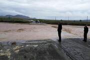 سیلاب، آب آشامیدنی ۶۰۰ خانوار روستای دزق نیشابور را قطع کرد