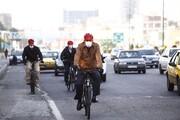 تصاویر | سهشنبه بدون خودروی حناچی در روزهای کرونایی | شهردار تهران خون داد
