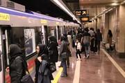 کاهش سرفاصله حرکت قطارهای شلوغترین خط مترو تهران