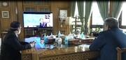 ببینید | گفتوگوی مجازی شهرداران تهران و سئول