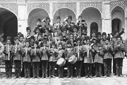عکس | نخستین گروه موسیقی دانشآموزی در ایران