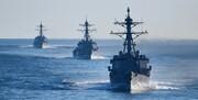 آمریکا مدعی حرکات ناامن از سوی شناورهای نظامی ایرانی شدند