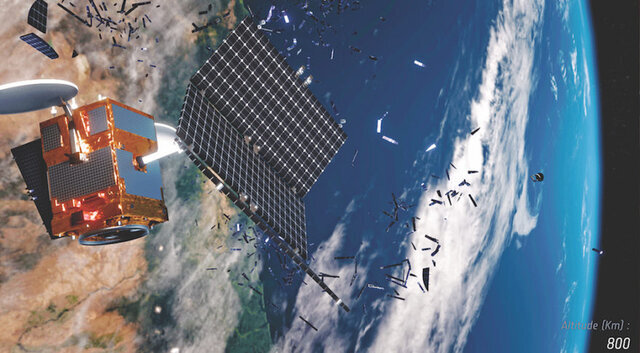 موشک ماهواره