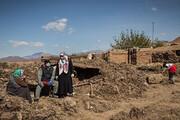 تصویر | خسارات سیل در روستای بهانگر سبزوار