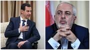 ظریف با بشار اسد دیدار کرد | تصاویر متفاوت از دو دیدار مهم