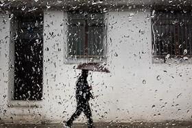 بارش و رگبار پراکنده باران در برخی مناطق کشور