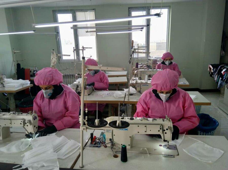 تولید ماسک منطقه 9