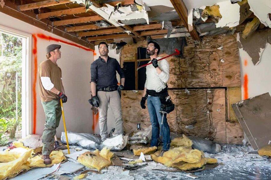 برد پیت/ بازسازی خانه