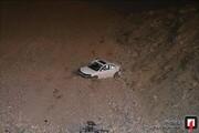 حادثه عجیب در تهران |راننده مزدا پس از سقوط ۱۰۰ متری سالم ماند