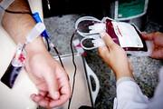 اعضای جمعیت هلال احمر به صف اهداکنندگان خون پیوستند