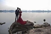 عکس روز | عروسی در ووهان
