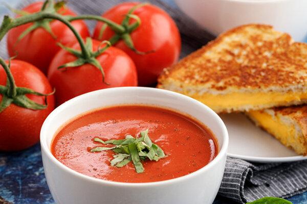 سوپ - آشپزی - تغذیه - گوجه فرنگی