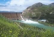 ذخیره آب پشت سد منجیل کاهش یافت