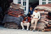 تصویر | رکود بیسابقه در بازار فرش همدان