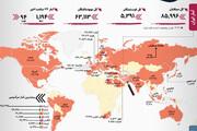 آمار رسمی کرونا | آمار آلمان و بیماران بدحال تهران زیاد شد