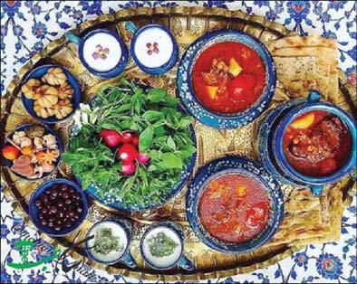 سفره - غذا - آشپزی